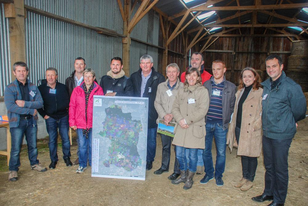 Grand champ veut prot ger son potentiel agricole journal paysan breton - Chambre agriculture finistere ...