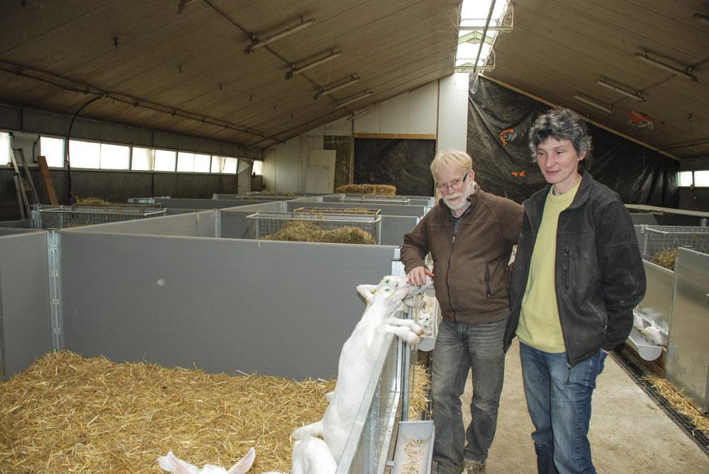 Photo of Une nurserie pour caprins démontable