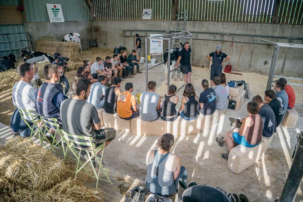 Photo of Les jeunes éleveurs fièrement représentés à l'EFJE 2015