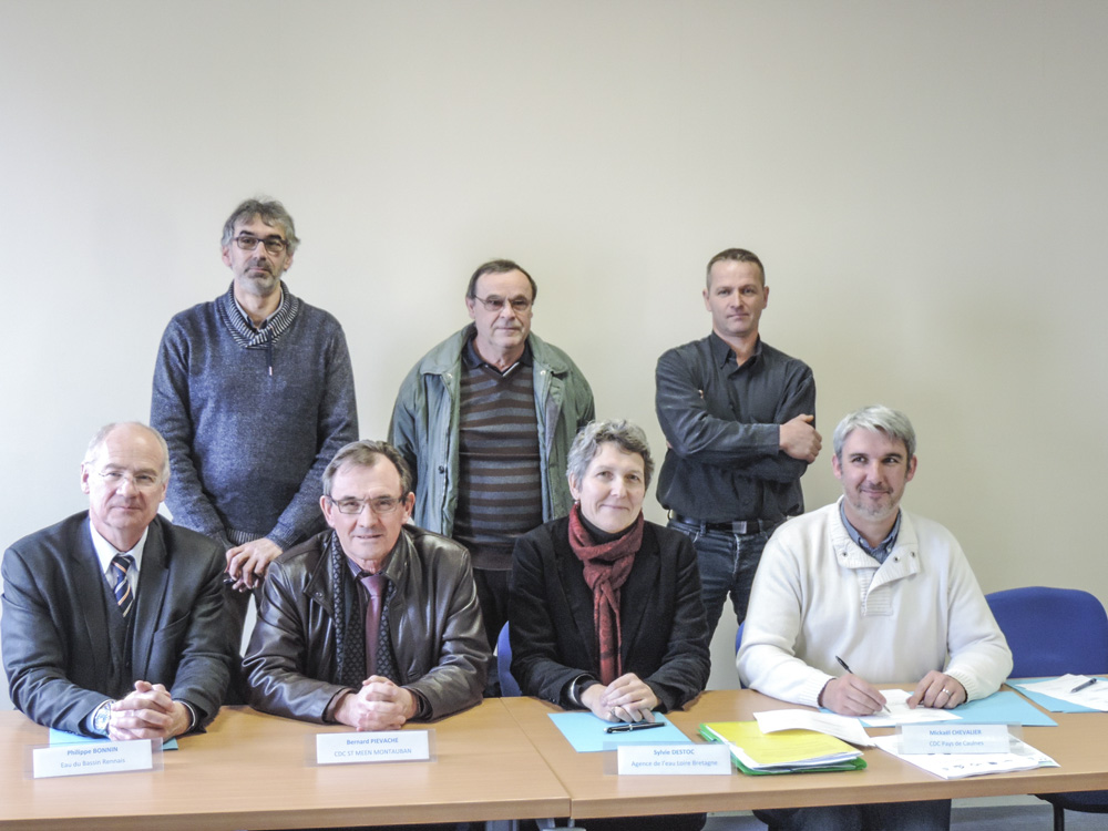 Photo of Signature du contrat de bassin versant de la Haute Rance 2014-2018