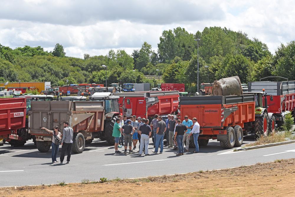 Photo of Les actions des éleveurs costarmoricains se multiplient