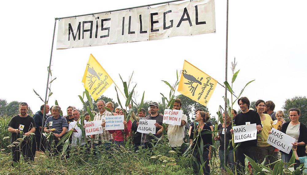 Photo of La Conf' aide une agricultrice à récupérer ses terres