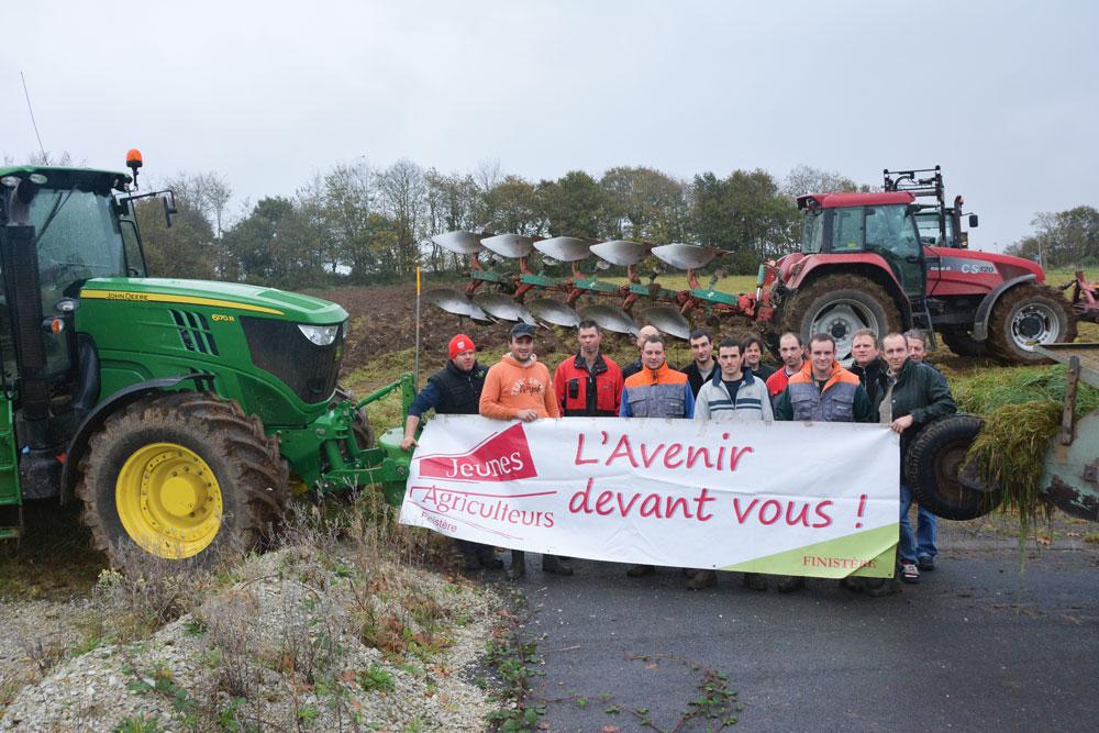 Photo of Les Jeunes Agriculteurs sèment de l'orge
