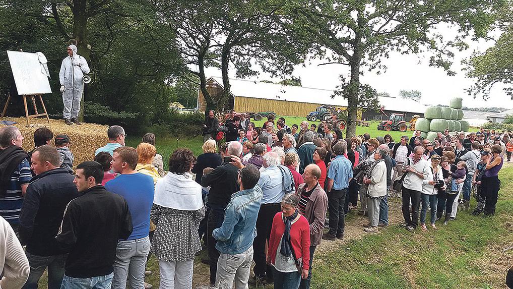 Photo of De nombreuses oreilles ont écouté Paroles d'agriculteurs