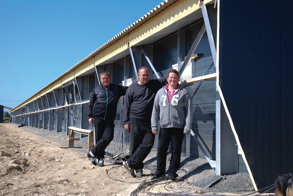Photo of Aviculture : l'élevage s'agrandit de 4 000 m2