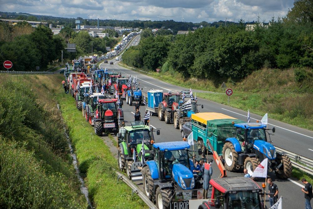Photo of La colère paysanne monte à Paris pour le 3 septembre