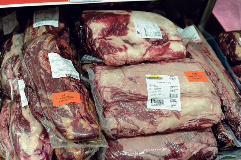 Origine de la viande chez Métro