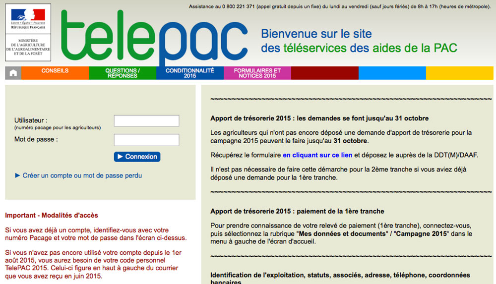 Photo of Aides PAC : un formulaire à renvoyer impérativement