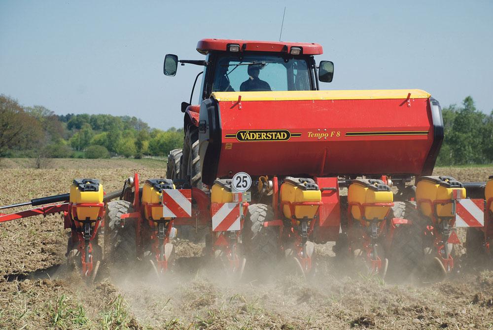 Photo of La technique de semis du maïs peut limiter le ruissellement