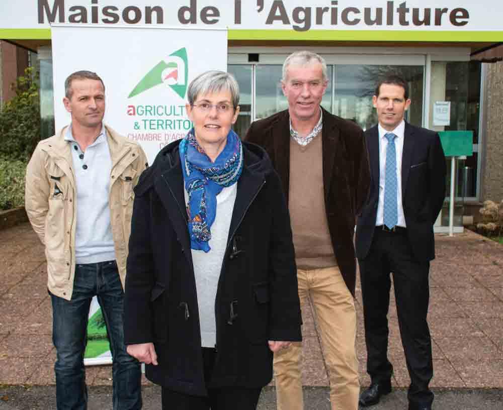Photo of Danielle Even, présidente de la Chambre d'agriculture