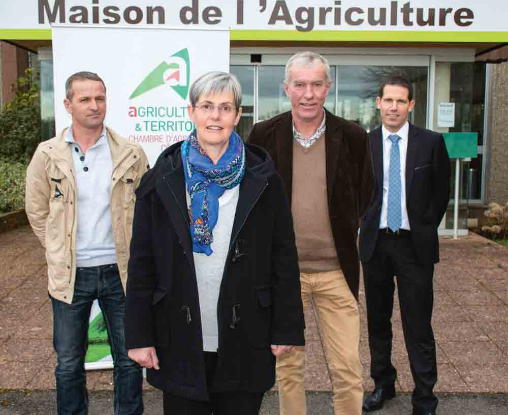 Danielle Even Elue Presidente Chambre Agriculture Plerin Productrice