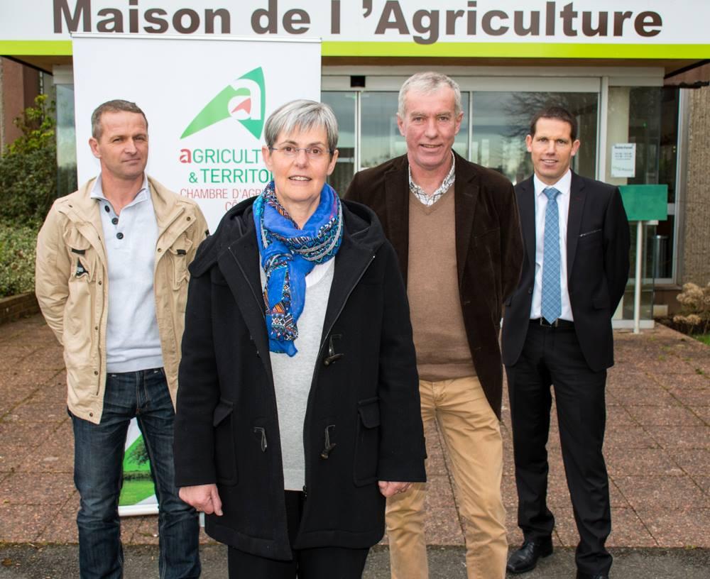 Danielle even pr sidente de la chambre d 39 agriculture 22 - Chambre d agriculture 24 ...