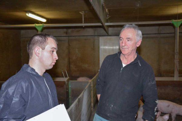 Daniel Quinquis (à droite) et Jérémy Stéphan, conseiller bâtiment Prestor
