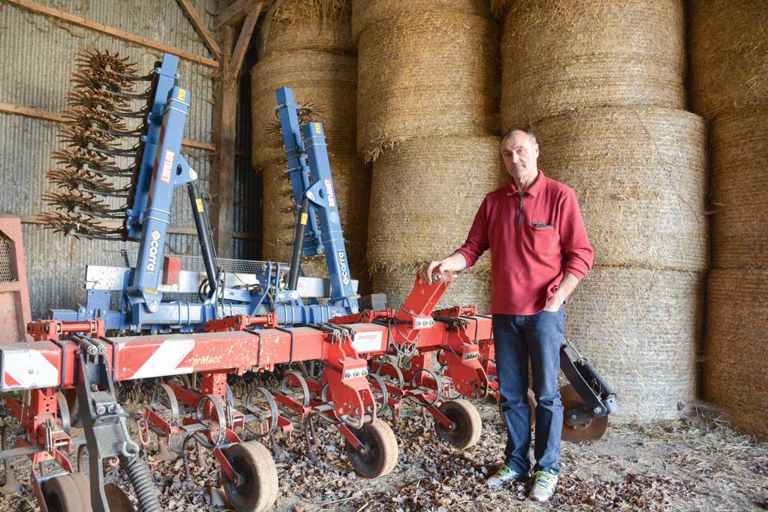 Photo of Désherbage du maïs : « Avec la houe rotative, je retarde la sortie du pulvérisateur »