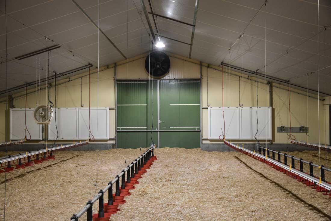Photo of La combinaison de 2 systèmes de ventilation dans leur poulailler