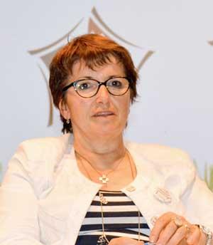 Christiane Lambert, vice-présidente de la FNSEA