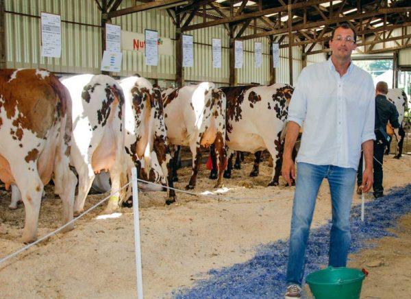 Jean-Michel Arondel proposera des femelles de son élevage à la vente.