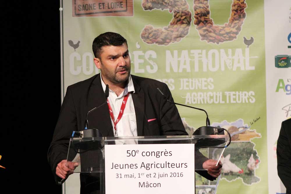Photo of Jérémy Decerle, nouveau président des Jeunes Agriculteurs