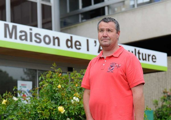Hervé Moël, vice-président de la FDSEA 22