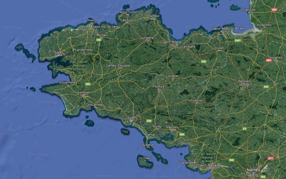 carte-bretagne-google-maps