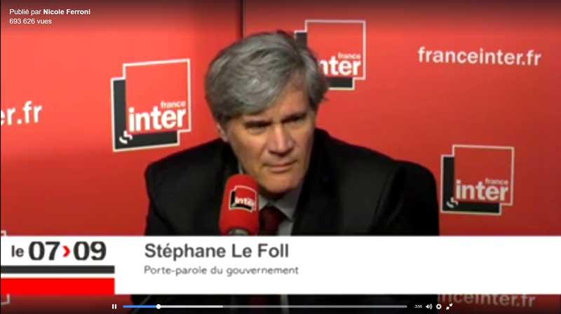 Photo of La chronique de Nicole Ferroni adressée à Stéphane Le Foll