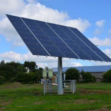 Photovoltaïque : le tracker produit 30% de l'électricité consommée