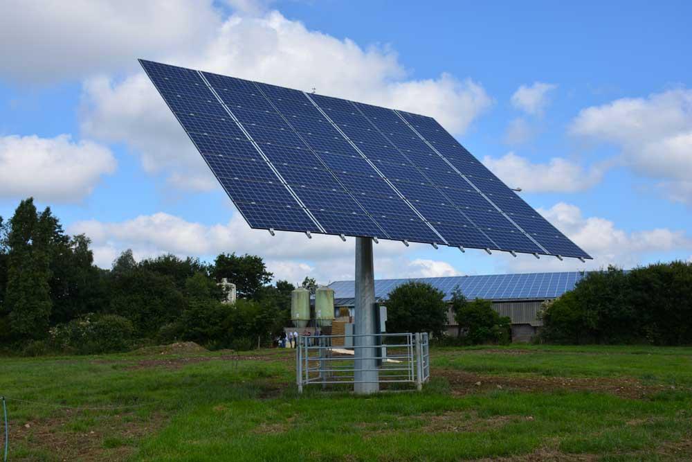 Photo of Photovoltaïque : le tracker produit 30% de l'électricité consommée
