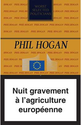 Phil Hogan, vu par la Coordination Rurale.