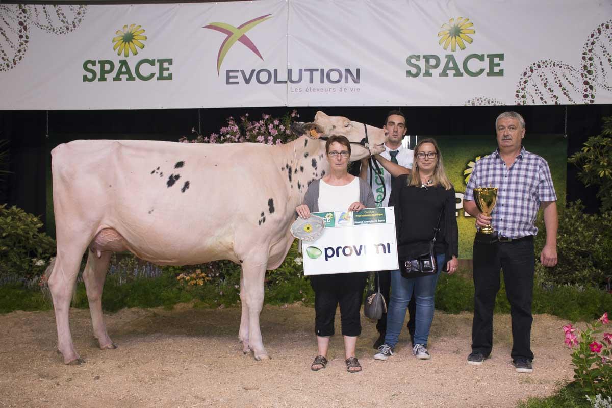 Photo of SPACE 2016 : Holstein Catégorie espoir, le Maine et Loire devant la Bretagne !