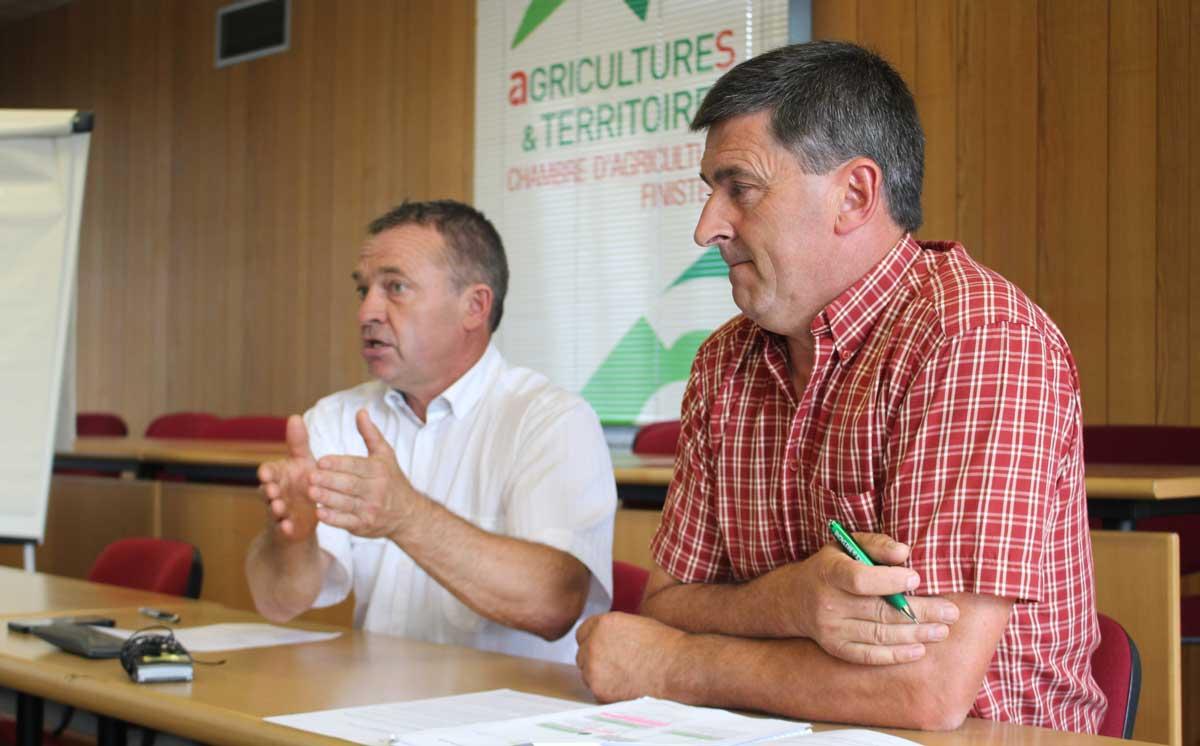 Crise du lait vers un fond r gional d 39 anticipation et de gestion des crises journal paysan - Chambre agriculture finistere ...