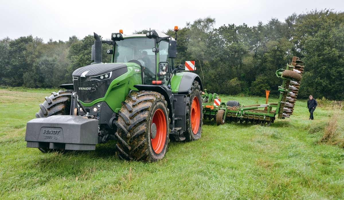 transmettre toute la puissance du tracteur