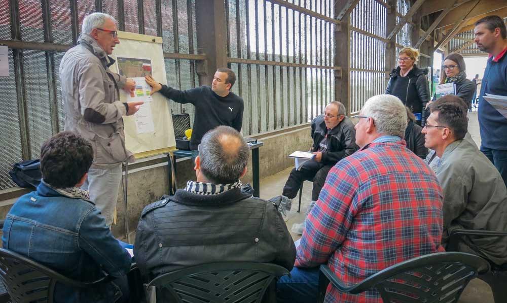 La journée Contrôle sans stress, organisée par le Geda 35, avec la DDTM et la Chambre d'agriculture, est une des actions du plan d'action départemental relatif aux contrôles en exploitation. Elle permet aux interlocuteurs d'échanger et de se connaître.