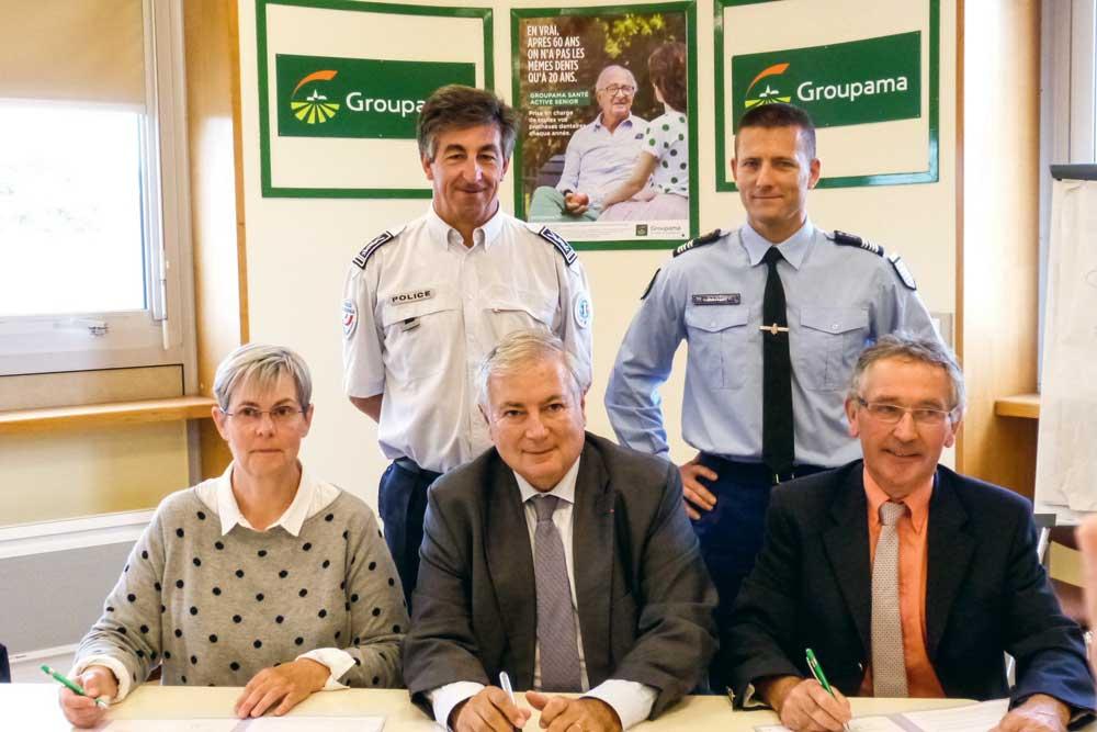 Photo of Groupama signe la convention de lutte contre les vols dans les exploitations