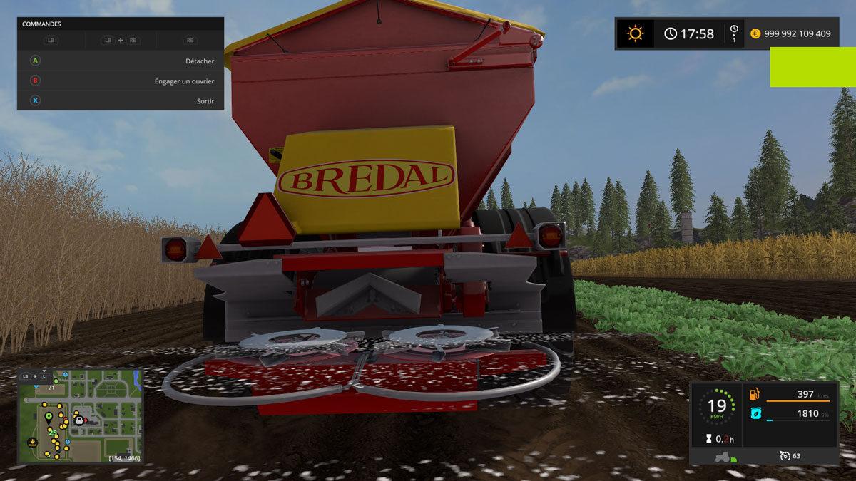Farming simulator 17 2017 cultures et machinisme - Jeux de tronconneuse qui coupe les arbres ...