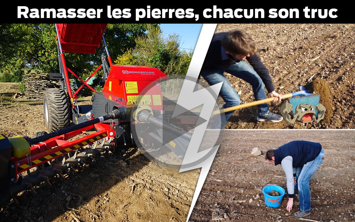 Photo of Ramasser les cailloux pour limiter la casse