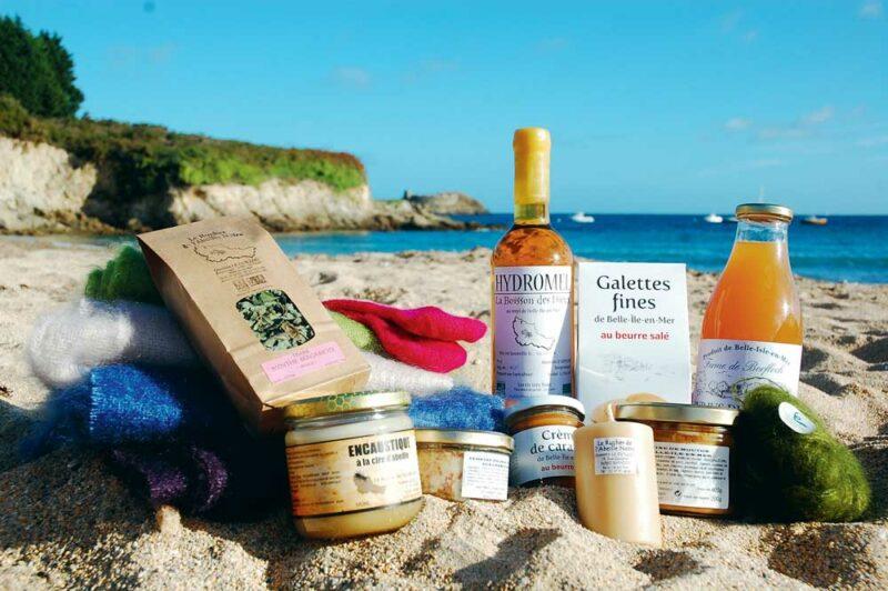Les produits de Belle-Île ont une bonne image auprès des touristes.
