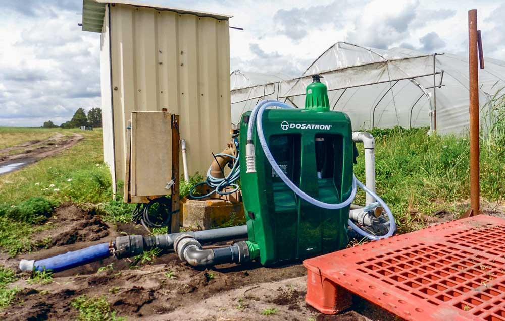 Photo of Irrigation : une pompe doseuse précise et autonome