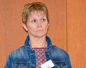 Martine Le Rat, 600 truies à Mauron (56)