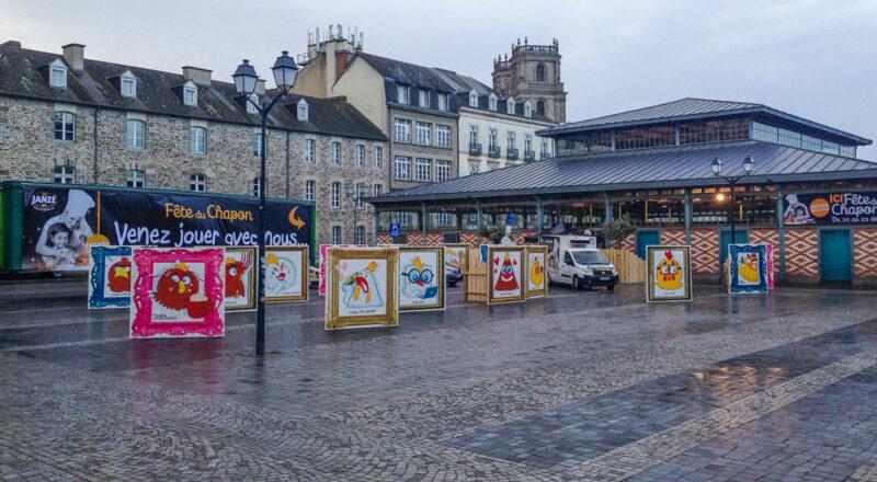 Les 11 et 12 décembre, les volailles de Janzé seront mises à l'honneur dans les halles Martenot, place des Lices, à Rennes (35).