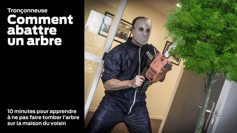Photo of Tronçonneuse – Comment abattre un arbre sans le faire tomber sur la maison du voisin