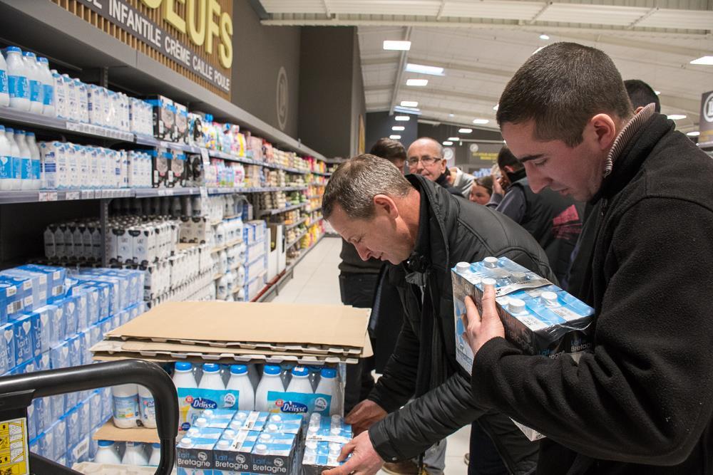 Photo of Les produits laitiers en promo sortis des rayons