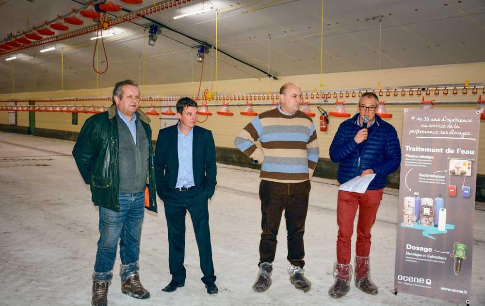 Un poulailler neuf polyvalent de 1200 m2 journal paysan breton - Chambre d agriculture de bretagne ...