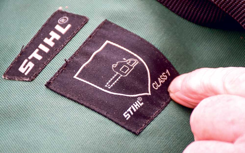 Photo of Pantalon, chaussure : un logo pour la protection anti-coupure