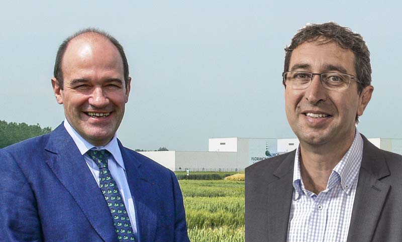 Photo of François Desprez, président, et Pierre Pagès, vice-président du Gnis