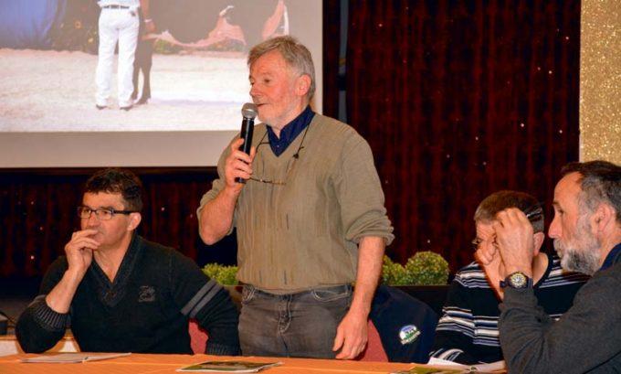 Les adhérents du syndicat Prim'Holstein, présidé par Jean-François Guillaume (photo), ont rendu un vibrant hommage à Pierre-Yves Boleis, décédé quelques jours avant l'assemblée générale.