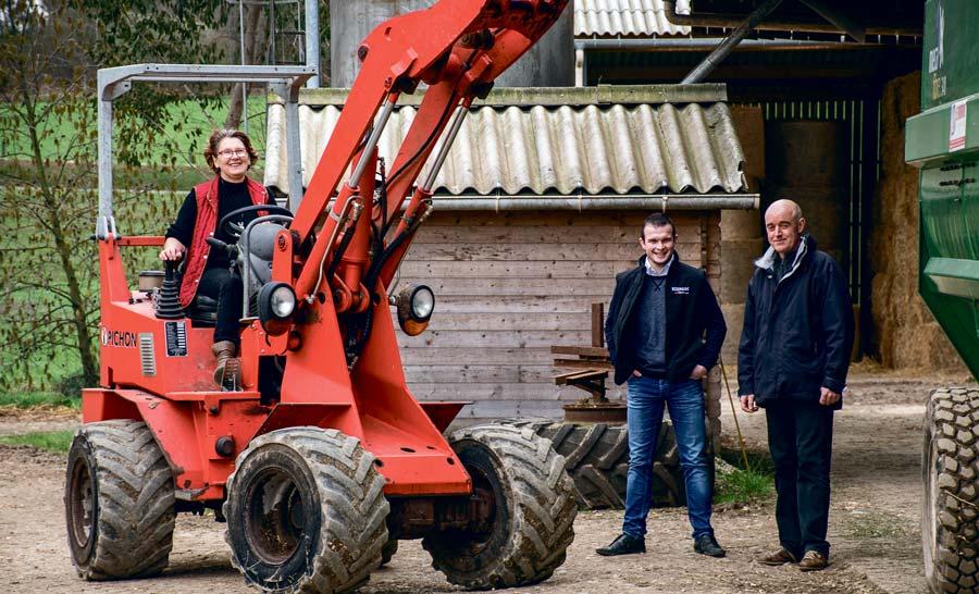 Lucienne et Alain Hercouët travaillent avec le nutritionniste Mickaël Jacq depuis quelques mois.