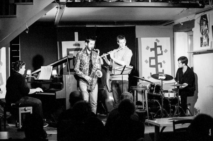 Coum-Chaillou quartet au Théodore.