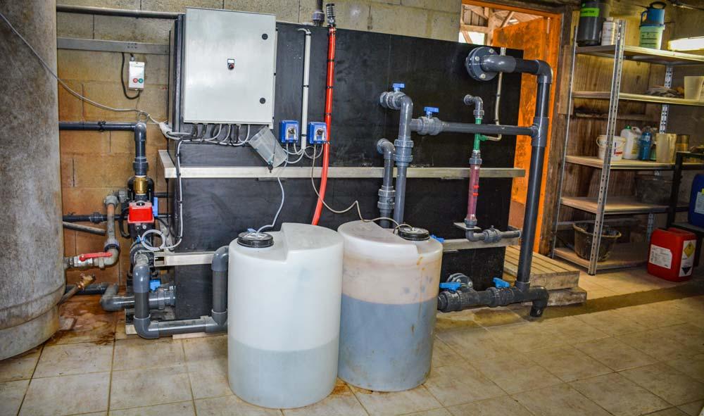 Photo of Le fer éliminé de l'eau par filtration gravitaire