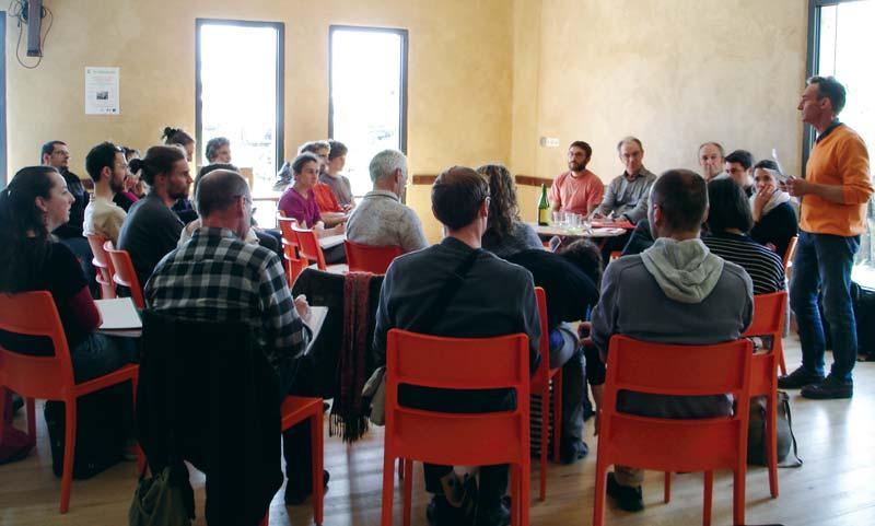 Chaque participant a pu contribuer à la réflexion sur les nouvelles formes de transmissions à imaginer.