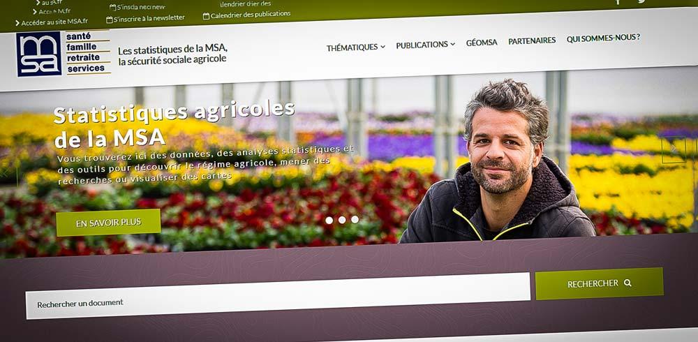 """Photo of La MSA lance une """"cartographie dynamique"""" pour consulter ses données en ligne"""